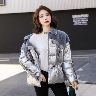 熤笙靘 2019冬季韓版新款女式棉衣短款棉襖羽絨棉服女外套    Q2931-1