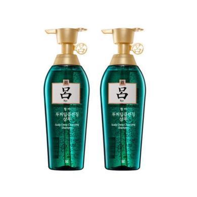 【支持購物卡】2件裝 RYOE/呂 綠呂 舒盈清潤去頭屑洗發水 400ml*2