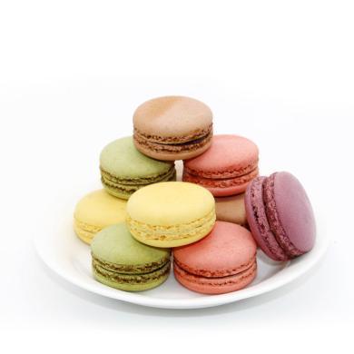法式馬卡龍甜點24枚禮盒正宗法國西式蛋糕甜品食品送禮面包