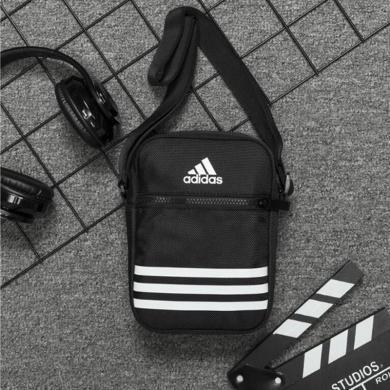 adidas阿迪達斯包男士斜挎包單肩商務休閑時尚小包DZ9239