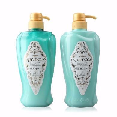 日本ESPRINCESS/魔法香气 无硅洗发水 600ML + 护发素 600ML 组合装