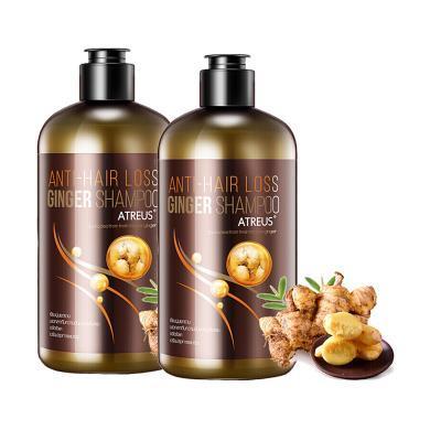 【支持购物卡】2瓶* 泰国Atreus无硅油控油生姜去屑洗发水   400ML 香港直邮