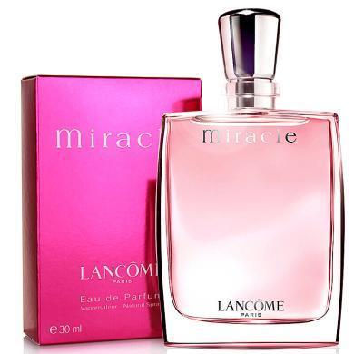 【支持購物卡】法國 蘭蔻 LANCOME 法國 奇跡真愛女士香水 30ml/瓶