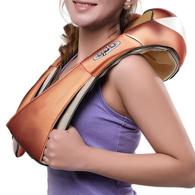 桔子(orange)按摩器揉捏披肩GO-818R颈椎肩部背部颈肩乐 车家两用