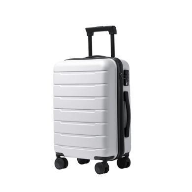 薩蒙斯 新款時尚男女大容量24寸旅行拉桿箱豎條紋密碼箱行李箱 120010-19L1