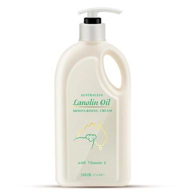 【支持購物卡】澳洲 澳芝曼 GM 綿羊油深度滋潤 綿羊油身體乳500g(1瓶裝)