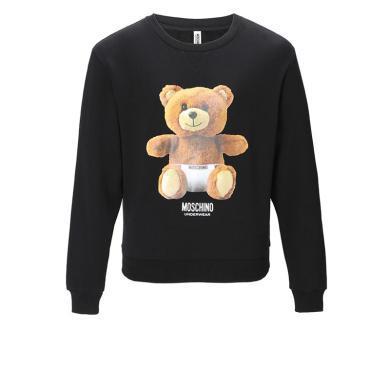[支持購物卡]MOSCHINO/莫斯奇諾 內褲熊印花 女款衛衣 1704