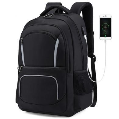 萨蒙斯 防水户外多功能双肩包大容量男士背包电脑包 791030