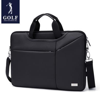 GOLF/高爾夫13寸14寸15.6寸單肩手提男女式筆記本電腦包商務時尚  D712948
