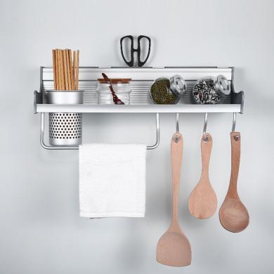 JOMOO 九牧 太空鋁 廚房置物架 廚房刀架94164-7Z-1