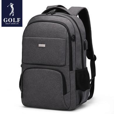 高爾夫GOLF多功能雙肩包男士大容量15.6英寸電腦包出差商務男包 D933921