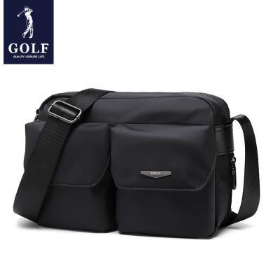 高爾夫/GOLF單肩包男運動健身包男士包包斜挎包休閑背包帆布郵差包 D842827