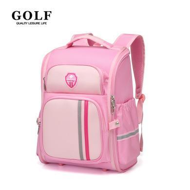 高爾夫GOLF小學生書包高顏值英倫防水書包女童雙肩背包大容量  D933894