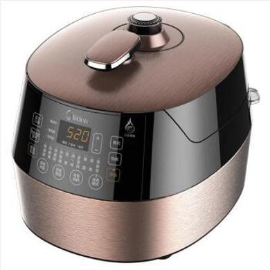 美的(Midea)電壓力鍋5L智能飯煲高壓鍋雙膽濃香沸騰 MY-SS5057P