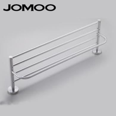 JOMOO卫生间毛巾架太空铝浴巾架浴室毛巾杆置物架939512-7Z-1
