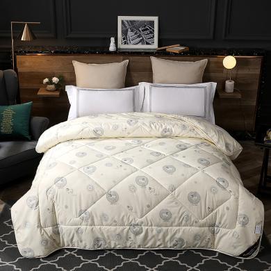 品卧家纺 温暖羊毛冬被被芯单双人加厚冬天保暖学生宿舍棉被褥