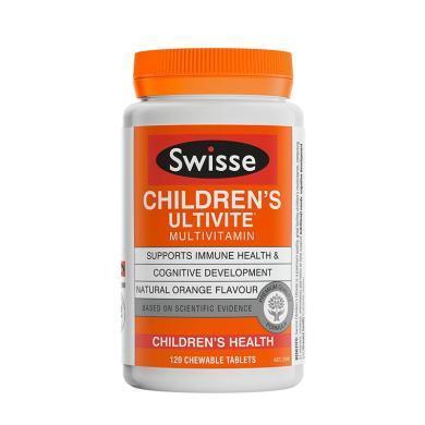 【支持购物卡】澳洲Swisse儿童复合维生素咀嚼片 120片 儿童保健
