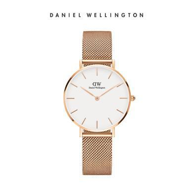 丹尼尔惠灵顿(Daniel Wellington)DW32mm米兰钢带简约时尚女士手表