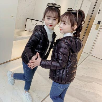 銘佳童話新款冬季女童裝兒童冬裝女大童韓版外套小女孩洋氣輕薄羽絨服CFCF7529YR081