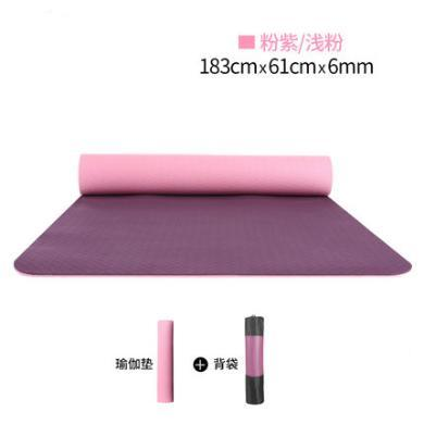 zoano佐纳 瑜伽垫毯初学者6MM厚环保无味TPE防滑健身瑜伽垫运动健身