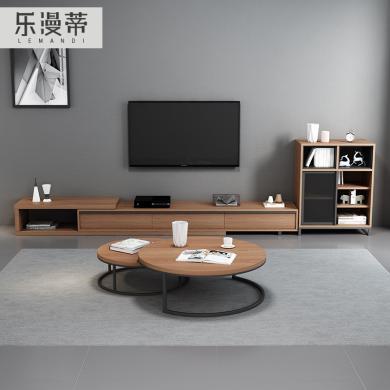 樂漫蒂  電視柜 五金架+免漆板 LMD6608-1