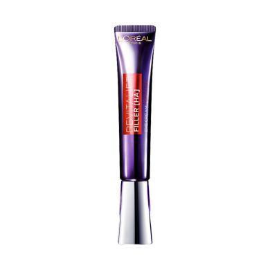 【支持購物卡】【紫熨斗全臉眼霜】歐萊雅 復顏玻尿酸水光充盈全臉淡紋眼霜 30毫升