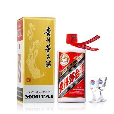 53度 貴州茅臺酒 飛天茅臺 年份酒 醬香型白酒 2019年 500ml 單瓶裝 年貨