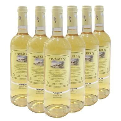 【限量50箱】【6支裝】品悅 法國原瓶進口 金棕櫚甜白葡萄酒 750mL 包郵
