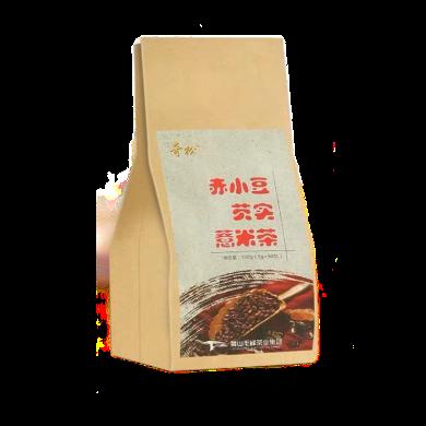 【安徽黃山特產】奇松 紅豆薏米芡實茶赤小豆苦蕎薏仁茶 大麥茶葉花茶30包共150g