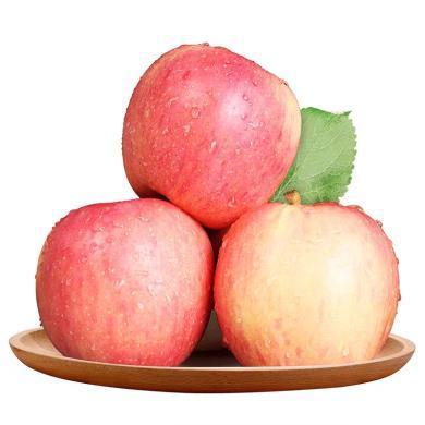華樸上品 陜西咸陽紅富士蘋果  新鮮水果蘋果