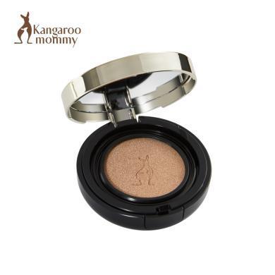 袋鼠媽媽 孕婦氣墊CC霜送替換芯 哺乳懷孕期專用燕窩天然遮瑕保濕隔離孕婦彩妝化妝品