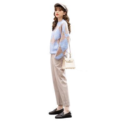 【支持购物卡】韩国 Lets diet  2020 新款女士秋冬哈伦裤 #多色可选