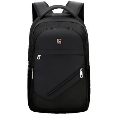 爱华仕双肩包男背包女大容量旅行包商务休闲电脑包韩版中学生书包