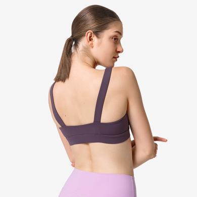YVETTE薏凡特内衣女无钢圈夏季薄款U型大露背胸罩聚拢性感显小胸运动美背文胸