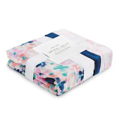 aden+anais 嬰兒多功能襁褓包巾寶寶紗布蓋被蓋毯 竹棉白標系列