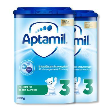 2罐*德国 爱他美 Aptamil  奶粉 3段 10-12个月 800g/罐