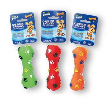 寵物用品千羽寵物狗狗發聲玩具 益智千羽寵物玩具耐咬 狗狗發聲骨頭玩具