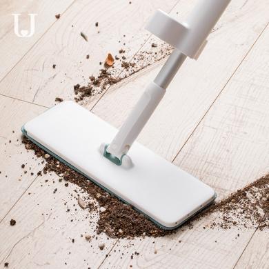 佐敦朱迪免手洗平板拖把 自挤水拖把 家用木地板一拖净干湿两用地拖布网红拖地神器