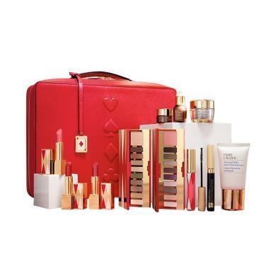 【支持購物卡】【2020新款禮盒】Estee Lauder雅詩蘭黛禮盒 2020年限量套裝禮盒彩妝護膚套裝 口紅 眼霜