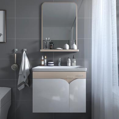 JOMOO九牧PVC浴室柜组合浴室储物柜洗漱台面盆镜柜吊柜A2169套装