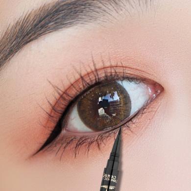 火烈鳥眼線筆不暈染防水持久不脫色初學者鉛筆式硬頭新手偽素顏