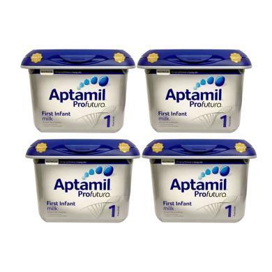 【支持购物卡】4罐*英国爱他美Aptamil奶粉白金版1段*800g   英国直邮