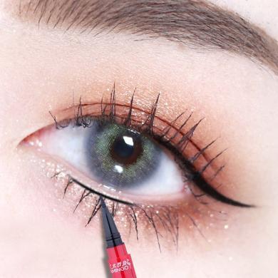 火烈鳥眼線筆速干防汗防水不暈染新手線液筆正品易畫硬頭細持久眼