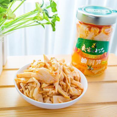 良家小品下饭菜油焖笋酱菜调味品餐饮火锅料230g开胃小菜