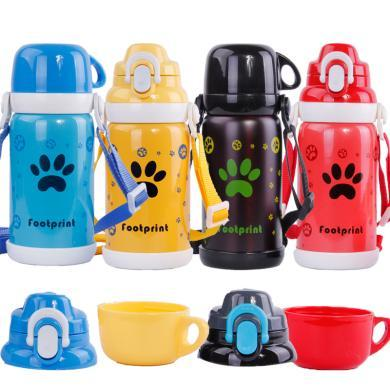 真空保溫運動水壺 寶寶不銹鋼保溫壺 戶外旅游保溫瓶 兒童保溫杯
