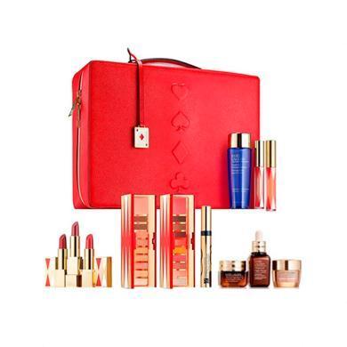 【支持購物卡】 美國 ESTEE LAUDER /雅詩蘭黛 彩妝護膚大禮包套裝禮盒 暖色系 圣誕節日套裝