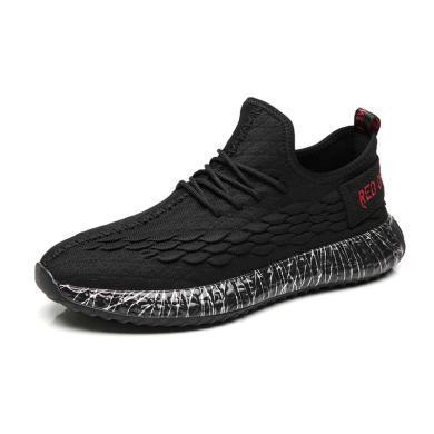 红蜻蜓男鞋运动鞋潮流鱼鳞纹c0191397