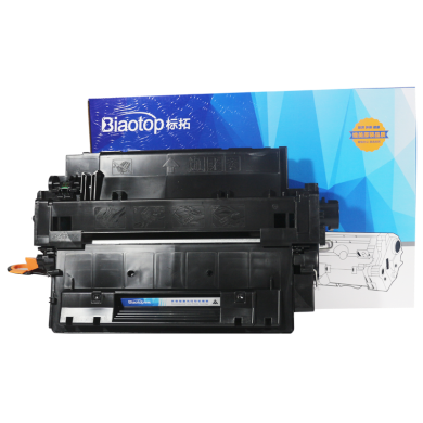 標拓(Biaotop)CE255A 硒鼓適用惠普HP LaserJet P3010/3015d/3016/Pro M521/MFP M525c 標準容量裝