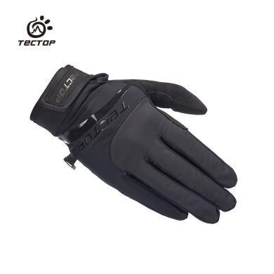 TECTOP/探拓秋冬保暖防滑耐磨手套旅行登山骑行软壳防风手套