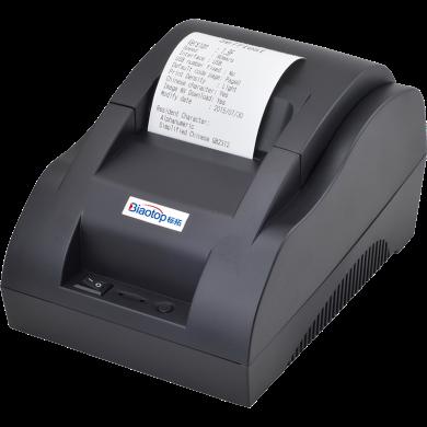 标拓(Biaotop)U86+小票打印机适用银行、电信、医院、餐饮、超?#23567;?#20307;彩小票打印 USB版